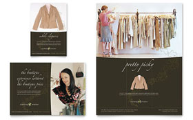 Women's Clothing Store - Flyer & Ad