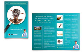 Pest Control Services - Brochure