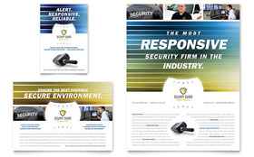 Security Guard - Flyer & Ad