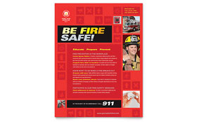 Fire Safety - Flyer