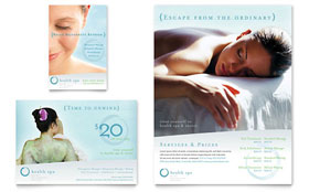 Day Spa & Resort - Flyer & Ad
