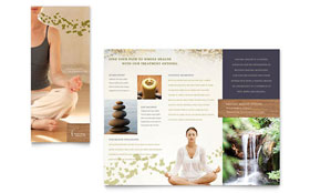 Naturopathic Medicine - Desktop Publishing Brochure Template