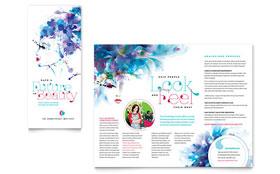Cosmetology - Brochure Template