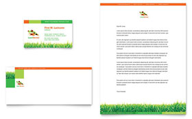 Lawn Maintenance - Business Card & Letterhead