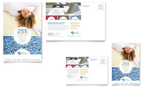 Carpet Cleaners - Postcard Template