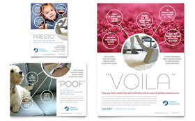 Carpet Cleaners - Flyer & Ad Template