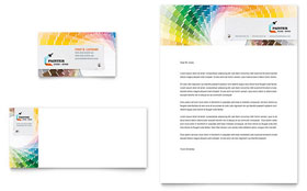 House Painting Contractor - Business Card & Letterhead