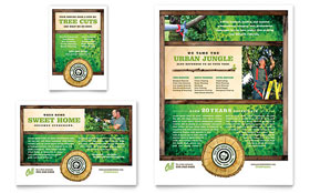 Tree Service - Flyer & Ad Template