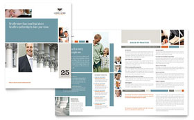 Family Law Attorneys - Brochure Template