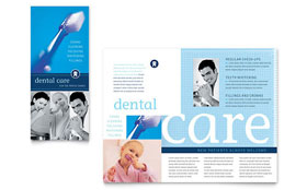 Dentist Office - Microsoft Word Brochure