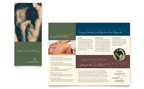 Chiropractor - Graphic Design Brochure Template