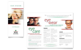 Optometrist & Optician - Brochure