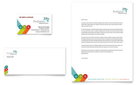 Pediatrician & Child Care - Business Card & Letterhead