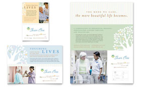 Elder Care & Nursing Home - Flyer
