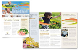 Health Insurance Company - Newsletter Template