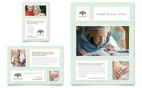 Senior Care Services - Flyer & Ad