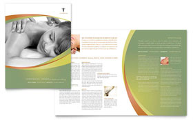 Massage & Chiropractic - Microsoft Word Brochure