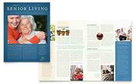 Senior Living Community - Newsletter Template