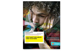 Adolescent Counseling - Flyer