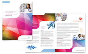Pharmacy School - Desktop Publishing Brochure Template