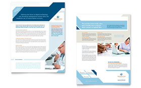 Medical Transcription - Sales Sheet Template