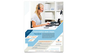 Medical Transcription - Flyer