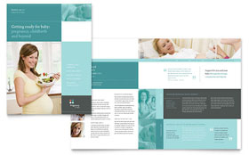 Pregnancy Clinic - Business Marketing Brochure Template