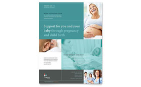Pregnancy Clinic - Flyer Template