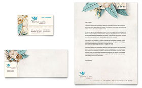 Hospice & Home Care - Business Card & Letterhead
