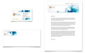Behavioral Counseling - Business Card & Letterhead Template