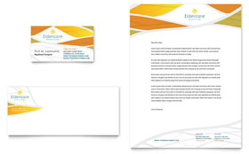 Assisted Living - Business Card & Letterhead