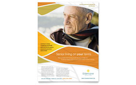 Assisted Living - Flyer