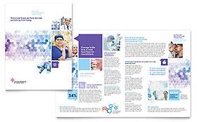 Cancer Treatment - Brochure Template