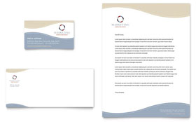 Marketing Consulting Group - Business Card & Letterhead Template