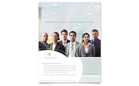 Business Consulting - Leaflet