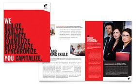 Business Executive Coach - Brochure Template