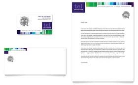 Business Leadership Conference - Business Card & Letterhead