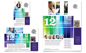 Business Leadership Conference - Flyer & Ad Template