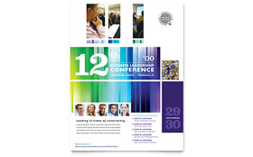 Business Leadership Conference - Flyer