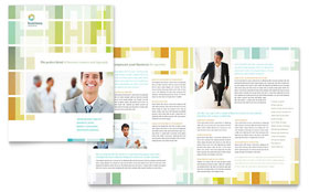 Business Solutions Consultant - Microsoft Word Brochure