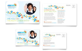 Job Expo & Career Fair - Postcard