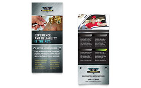 Locksmith - Rack Card Template