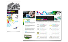 Printing Company - Apple iWork Pages Brochure