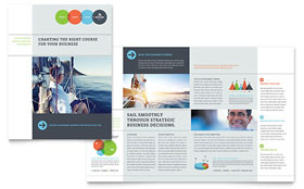 Business Analyst - Print Design Brochure Template