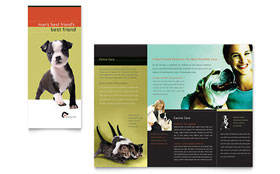 Veterinary Clinic - Brochure Template