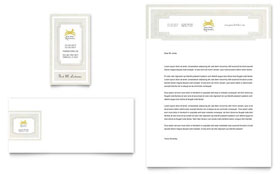 Pet Hotel & Spa - Business Card & Letterhead