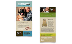 Animal Shelter & Pet Adoption - Rack Card