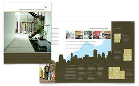 Urban Real Estate - Print Design Brochure Template