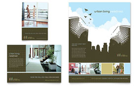 Urban Real Estate - Flyer & Ad