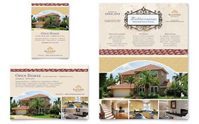 Luxury Real Estate - Print Ad Template